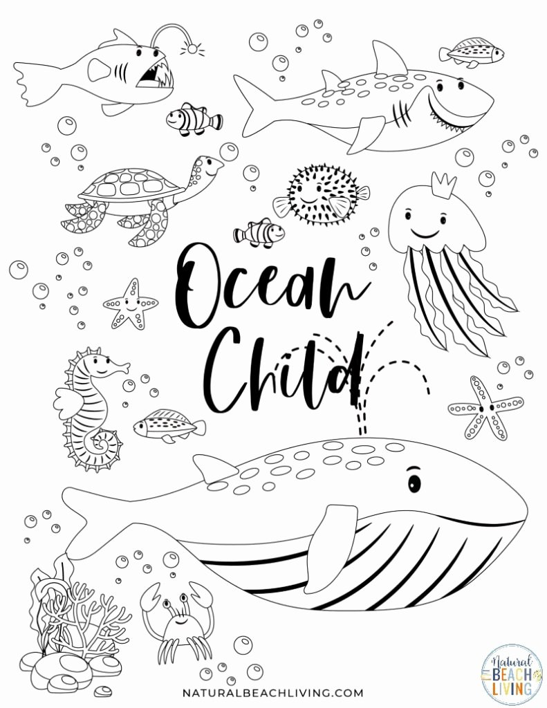 Free Printable Ocean Worksheets for Preschoolers Fresh Free Printable Ocean Activity Pages for Preschoolers and