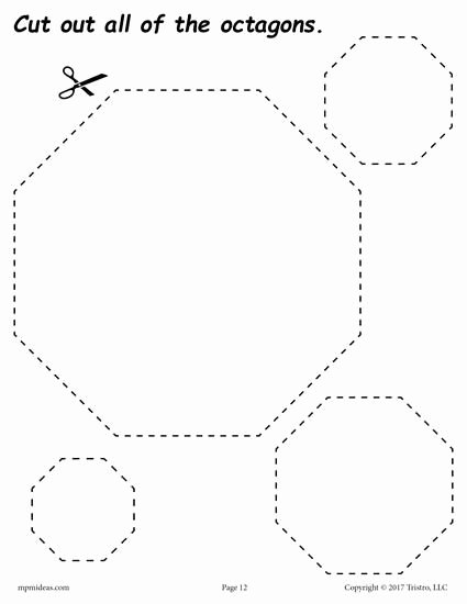 Free Printable Octagon Worksheets for Preschoolers Free Pin On Shapes Worksheets Coloring Pages & Activities