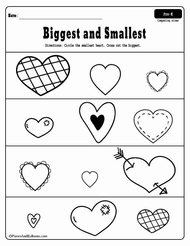 Free Printable Valentine Worksheets for Preschoolers Best Of Fun Free Printable Valentine S Day Worksheets for Preschool