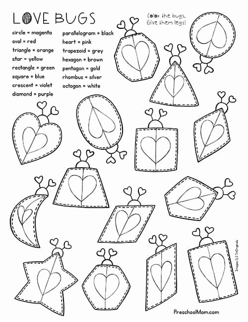 Free Printable Valentines Worksheets for Preschoolers Ideas Valentine S Day Preschool Printables Preschool Mom