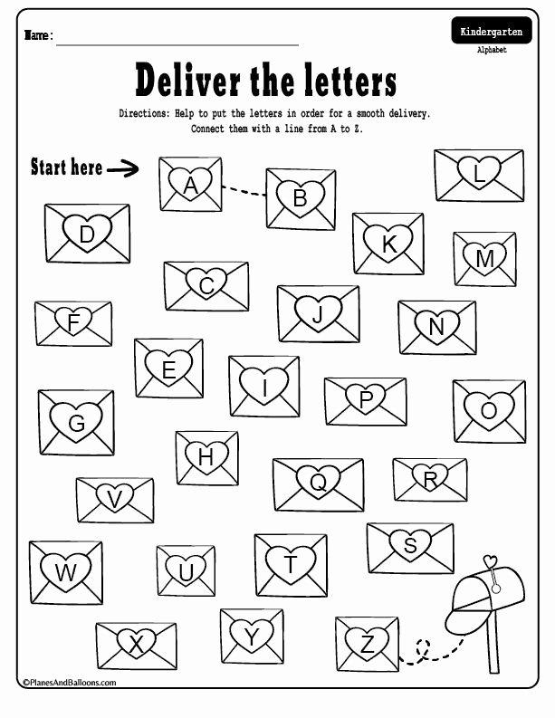 Free Printable Valentines Worksheets for Preschoolers New Free Printable Valentine S Day Kindergarten Worksheets