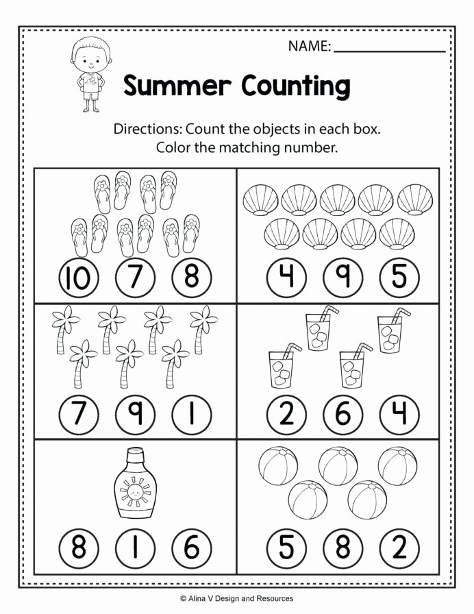 Free Printable Worksheets for Preschoolers On Numbers Best Of Printable Preschool Worksheets Number Hyponitrite Xyz Free