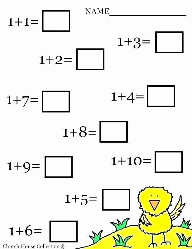 Free Printables Math Worksheets for Preschoolers Best Of Missing Number Worksheets Kindergarten Kindergarten Number