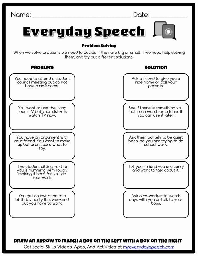 Free social Skills Worksheets for Preschoolers Best Of Worksheet Creator with social Skills Perspective