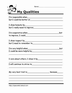 Free social Skills Worksheets for Preschoolers Fresh Printable Worksheets for Kids to Help Build their social