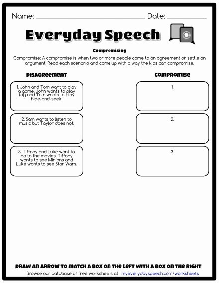 Free social Skills Worksheets for Preschoolers Printable Worksheets