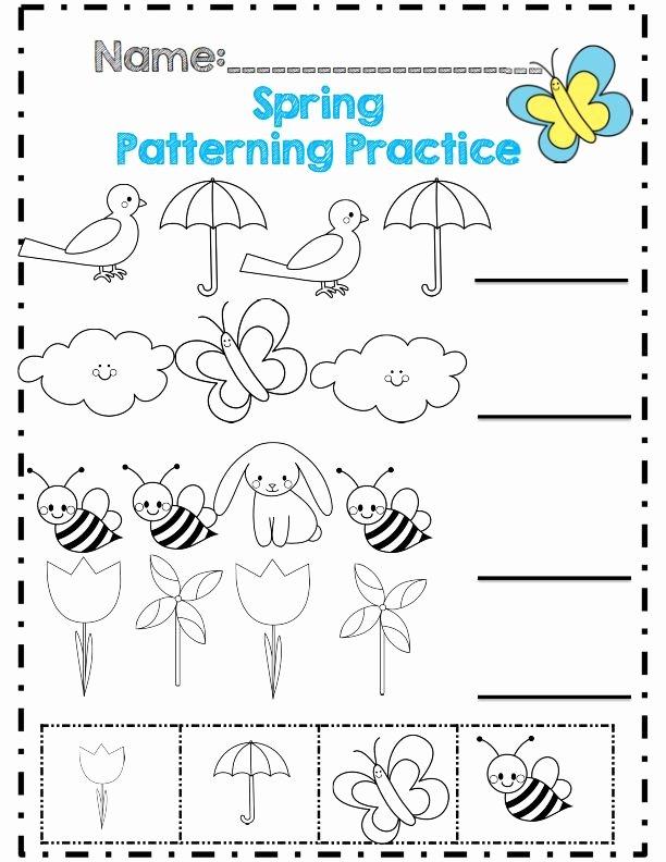 Free Spring Worksheets for Preschoolers Best Of Spring Worksheet for Kids Crafts and Worksheets Preschool