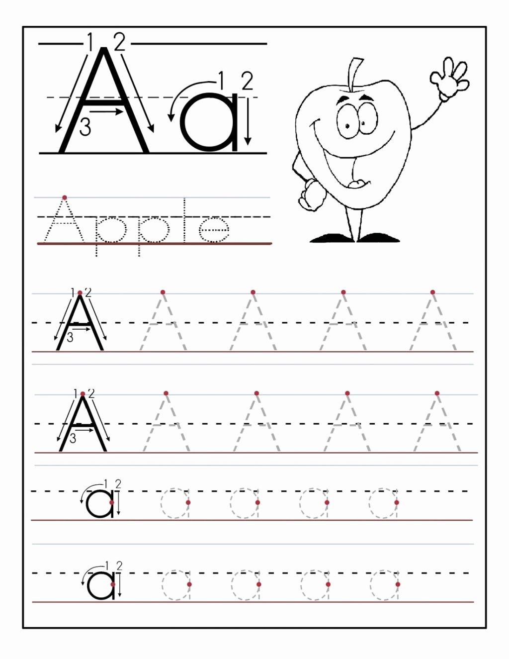 Free Tracing Lines Worksheets for Preschoolers Free Worksheet Kindergarten Alphabet Tracing Worksheets Page