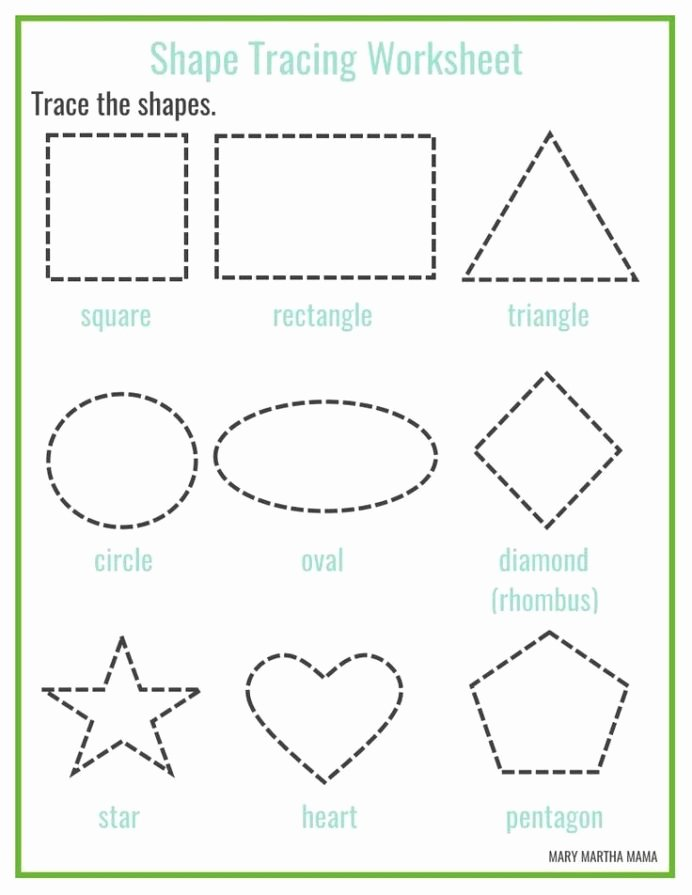 Free Worksheets for Preschoolers Shapes Ideas Shapes Worksheets for Preschool Free Printables Shape
