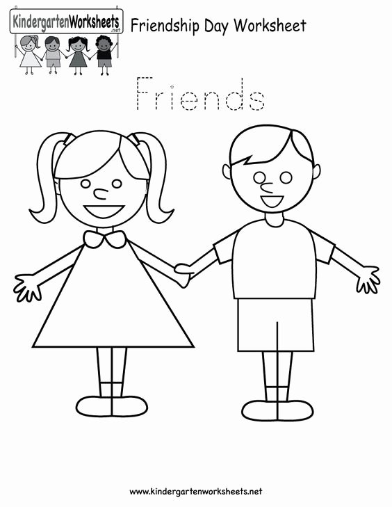 Friendship Worksheets for Preschoolers Free Free Printable Worksheets for Preschool