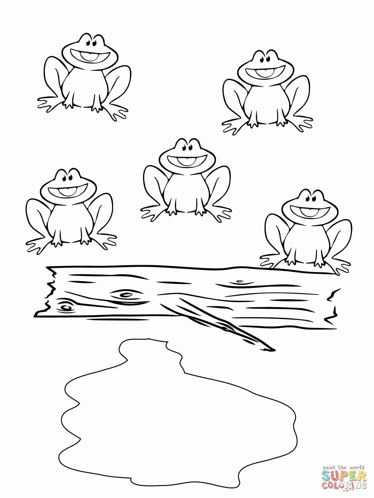 Frog Worksheets for Preschoolers Fresh Worksheets Worksheet Frog Coloring for Preschoolers