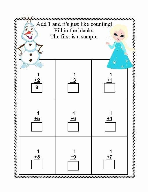 Frozen Worksheets for Preschoolers Best Of Frozen Worksheets for Kindergarten In 2020
