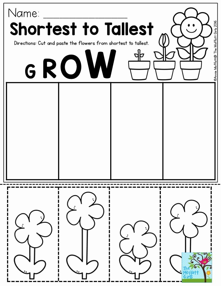 Gardening Worksheets for Preschoolers Fresh Pin On Spring Activities for Kids