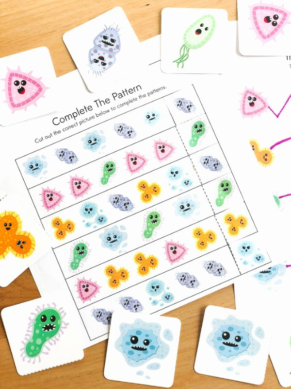 Germ Worksheets for Preschoolers Printable Free Printable Germ Worksheets for Kindergarten