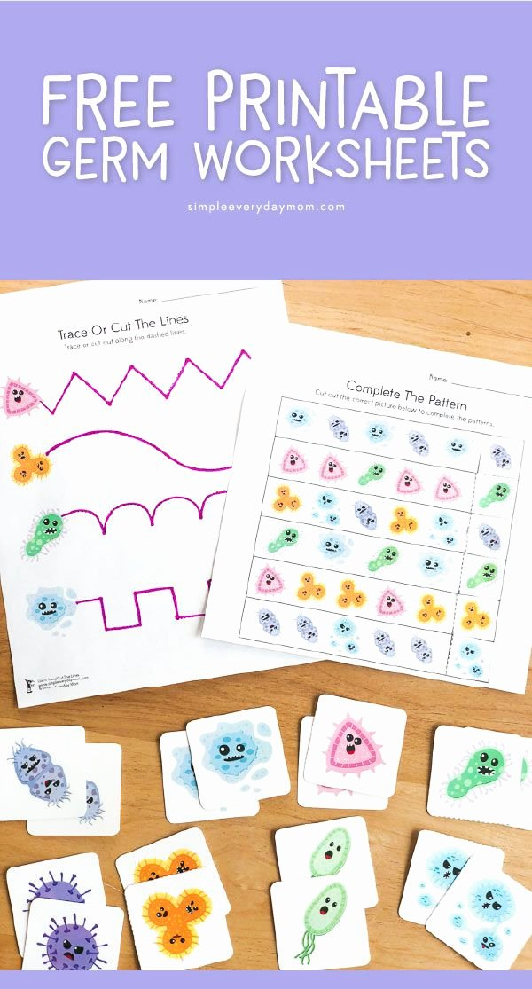 Germ Worksheets for Preschoolers top Free Printable Germ Worksheets for Kindergarten
