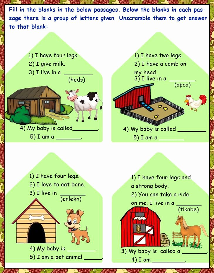 Gk Worksheets for Preschoolers Kids Kindergarten Science Fun Based General Knowledge Worksheets