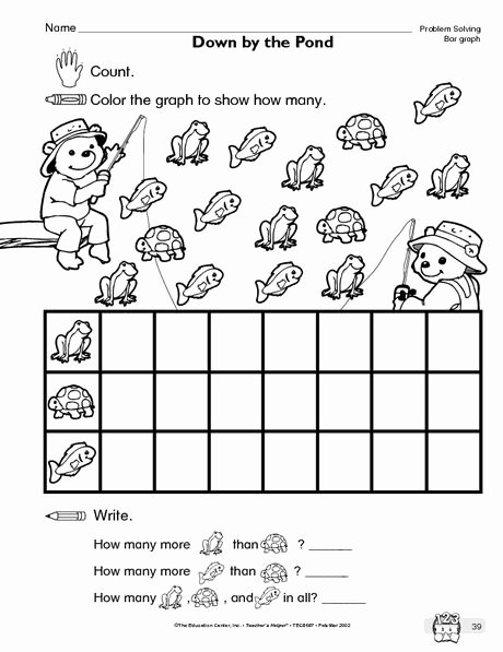 Graph Worksheets for Preschoolers Lovely Math Worksheet Bar Graph the Mailbox
