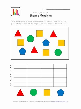 Graph Worksheets for Preschoolers top Kindergarten Graphing Worksheet