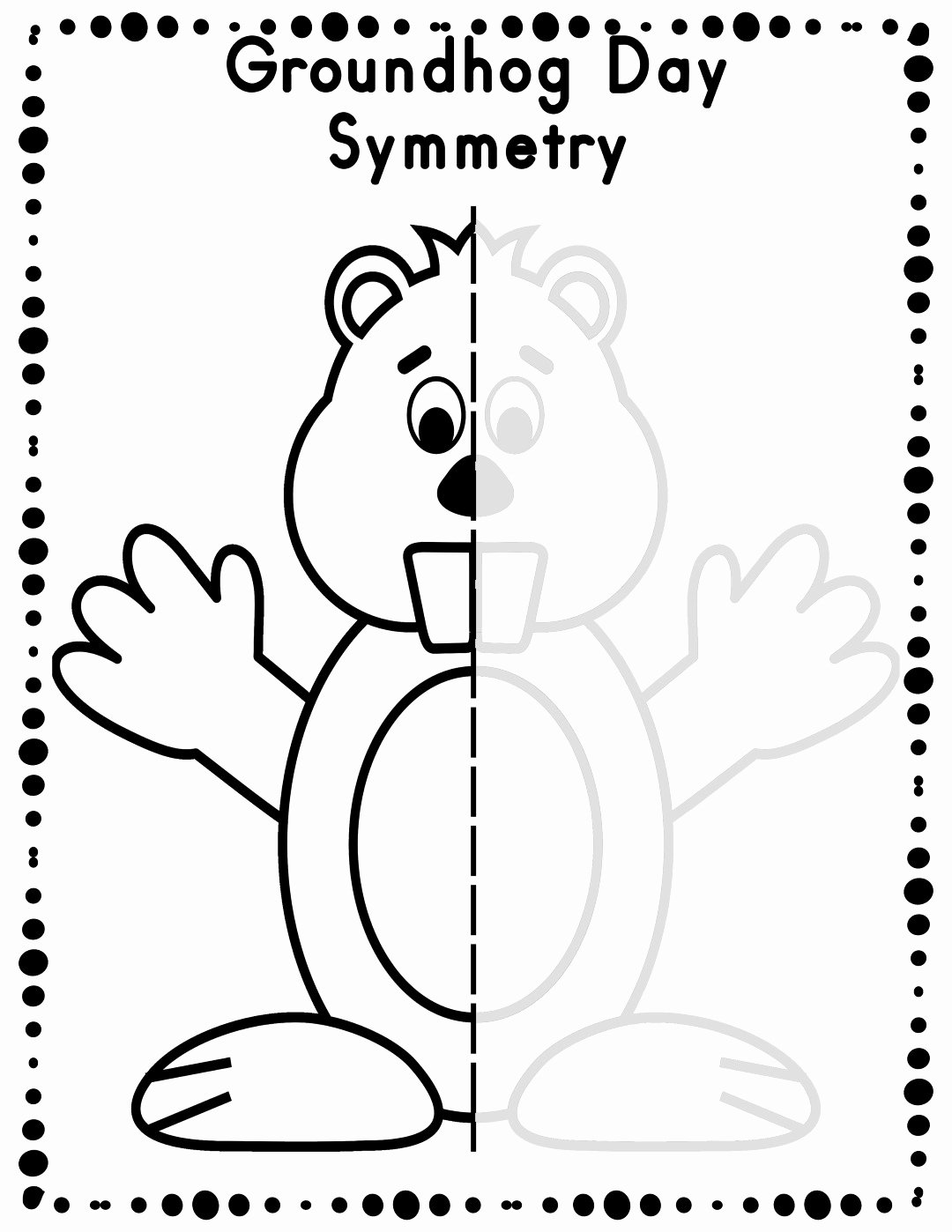 Groundhog Day Worksheets for Preschoolers New Groundhog Day Worksheets Best Coloring Pages for Kids