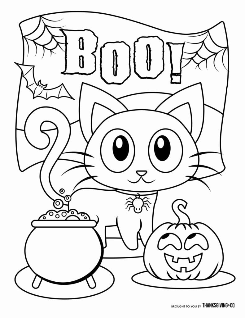 Halloween Coloring Worksheets for Preschoolers Best Of Halloween to Color for toddlers Near Me today