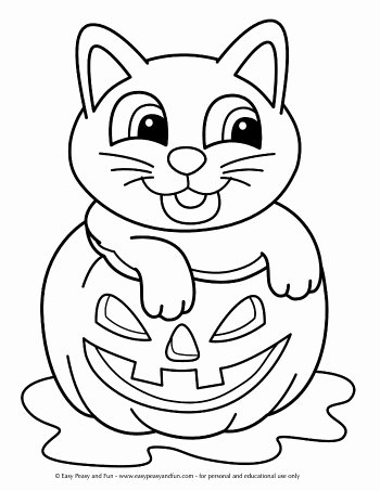 Halloween Coloring Worksheets for Preschoolers Ideas Halloween Coloring Pages Easy Peasy and Fun