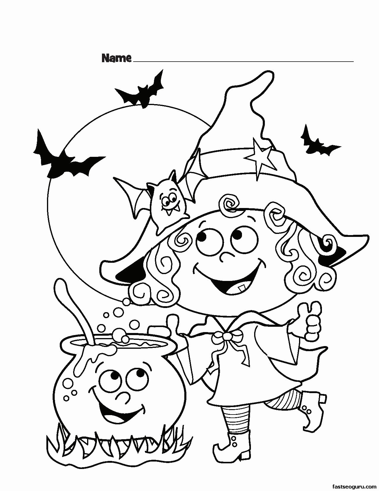 Halloween Coloring Worksheets for Preschoolers Inspirational astonishing Free Halloween Coloring Pages Inspirations