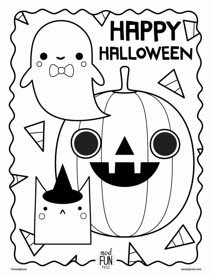 Halloween Coloring Worksheets for Preschoolers Kids Preschool Halloween Coloring Sheets Worksheet Chinese New