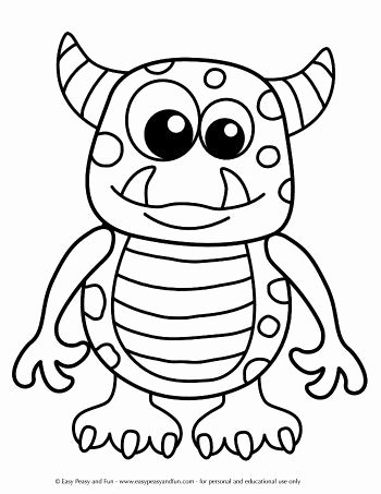 Halloween Coloring Worksheets for Preschoolers top Halloween Coloring Pages Easy Peasy and Fun