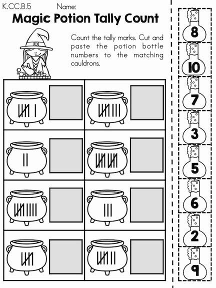 Halloween Counting Worksheets for Preschoolers Kids Halloween Math Worksheets Kindergarten