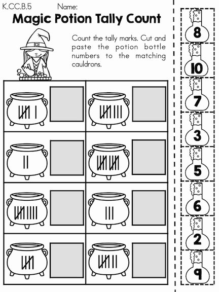Halloween themed Worksheets for Preschoolers Inspirational Halloween Math Worksheets Kindergarten themed Times Table