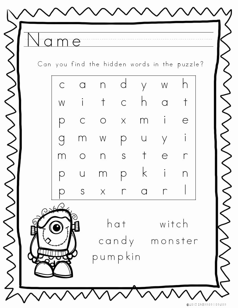 Halloween themed Worksheets for Preschoolers Kids these 5 Halloween themed Worksheets are A Wonderful Time