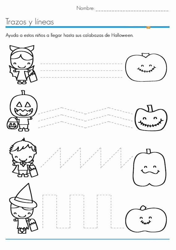 Halloween Worksheets for Preschoolers Best Of Halloween Worksheets for Kids