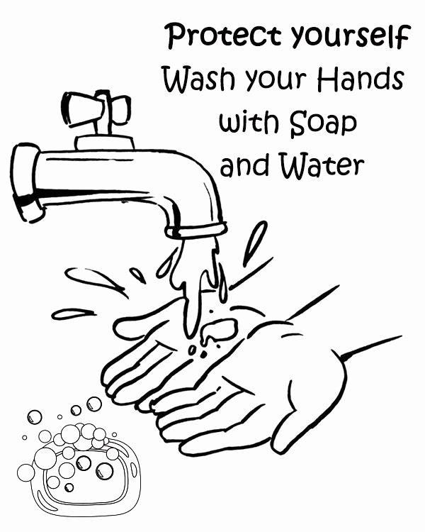 Hand Washing Worksheets for Preschoolers Ideas Free Hand Washing Coloring Pages for Preschoolers Kids