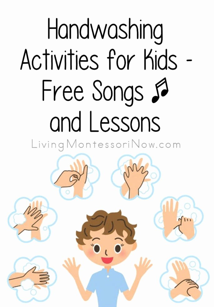 Hand Washing Worksheets for Preschoolers Kids Handwashing Activities for Kids Free songs and Lessons