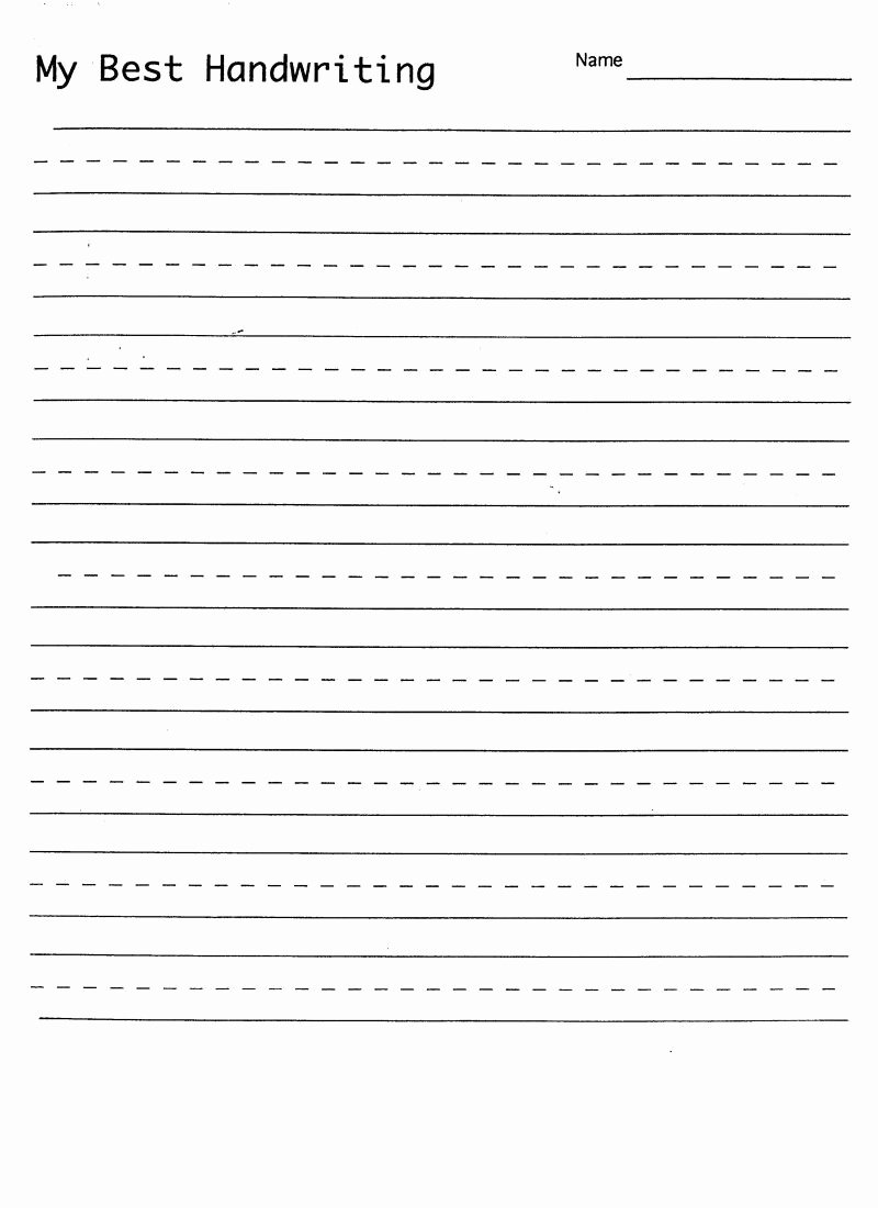 Hand Worksheets for Preschoolers Inspirational Math Worksheet Blank Hand Writing Sheet with