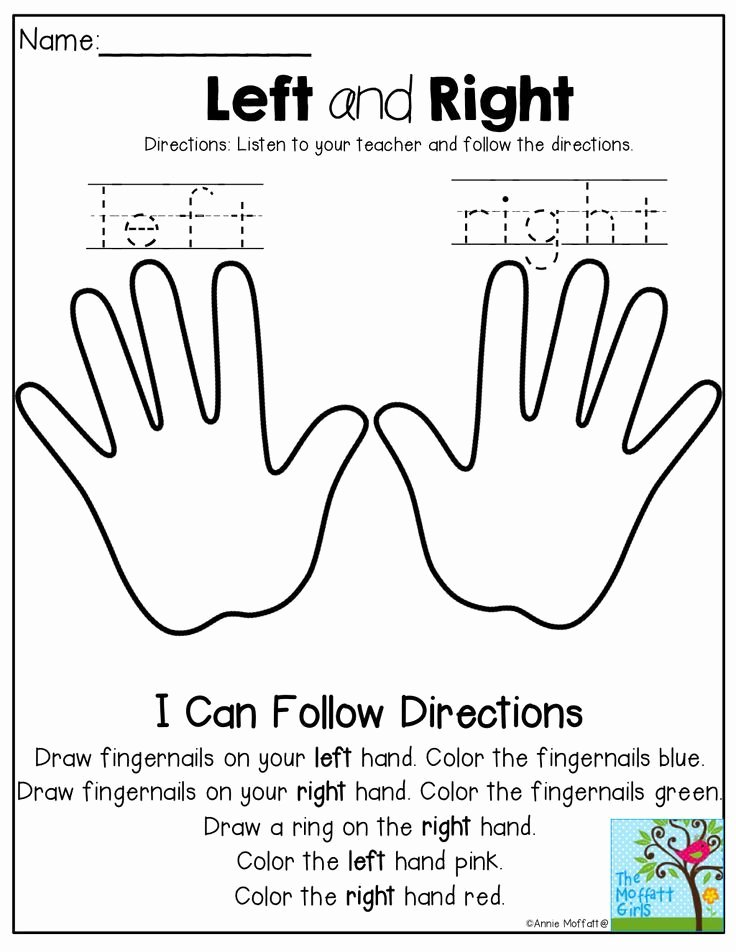 Hand Worksheets for Preschoolers Lovely Back to School No Prep Math and Literacy Packet