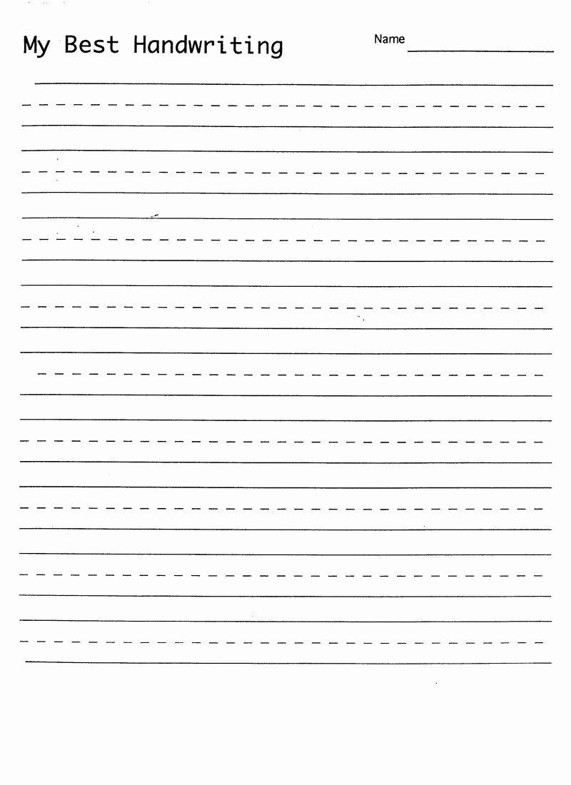 Handwriting Name Worksheets for Preschoolers Ideas Math Worksheet Blank Hand Writing Sheet with
