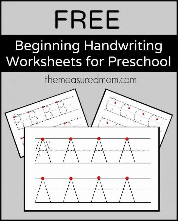 Handwriting Worksheets for Preschoolers Free Best Of Level 2 Handwriting Worksheets Uppercase the Measured