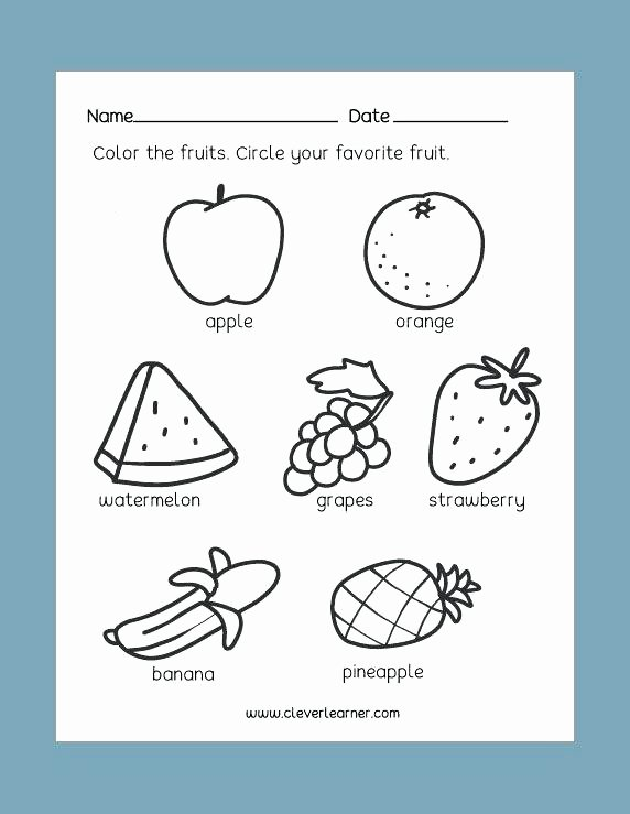 Healthy Worksheets for Preschoolers Fresh Food Worksheets for Kindergarten – Dailycrazynews