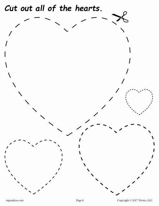 Heart Worksheets for Preschoolers Fresh Pin Auf Panenky
