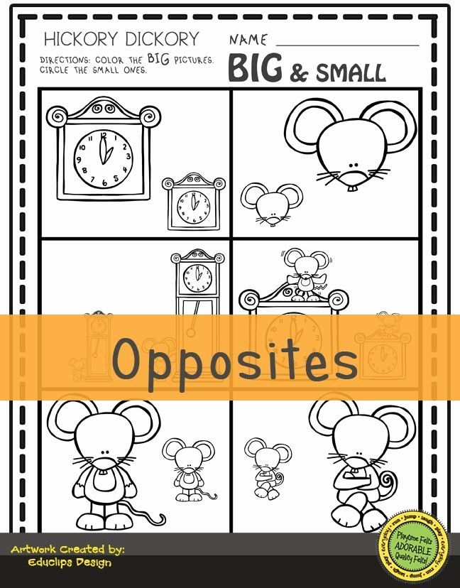 Hickory Dickory Dock Worksheets for Preschoolers Fresh Hickory Dickory Dock Nursery Rhyme Activities