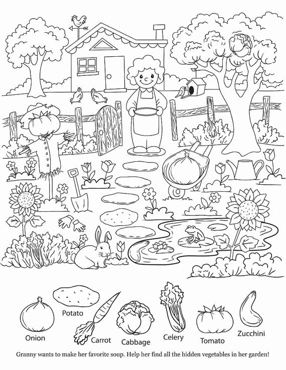 Hidden Objects Worksheets for Preschoolers Fresh Printable Hidden Objects Coloring Pages