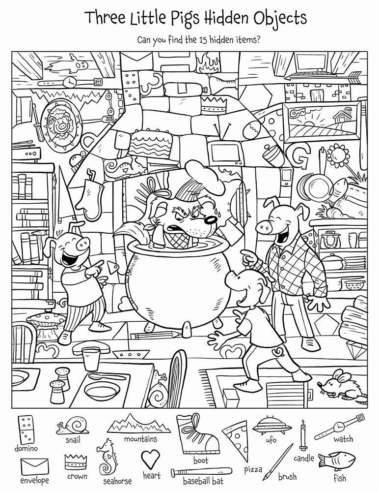 Hidden Picture Worksheets for Preschoolers Ideas Hidden Picture Worksheets Printable