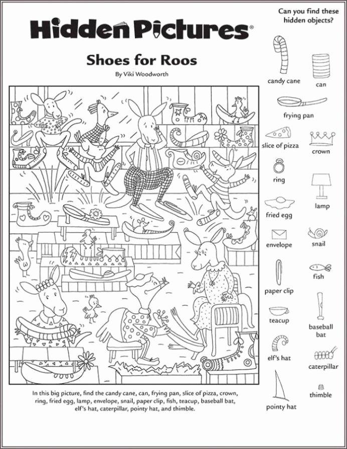 Hidden Picture Worksheets for Preschoolers top Hidden Worksheets Printable Shelter Free In with