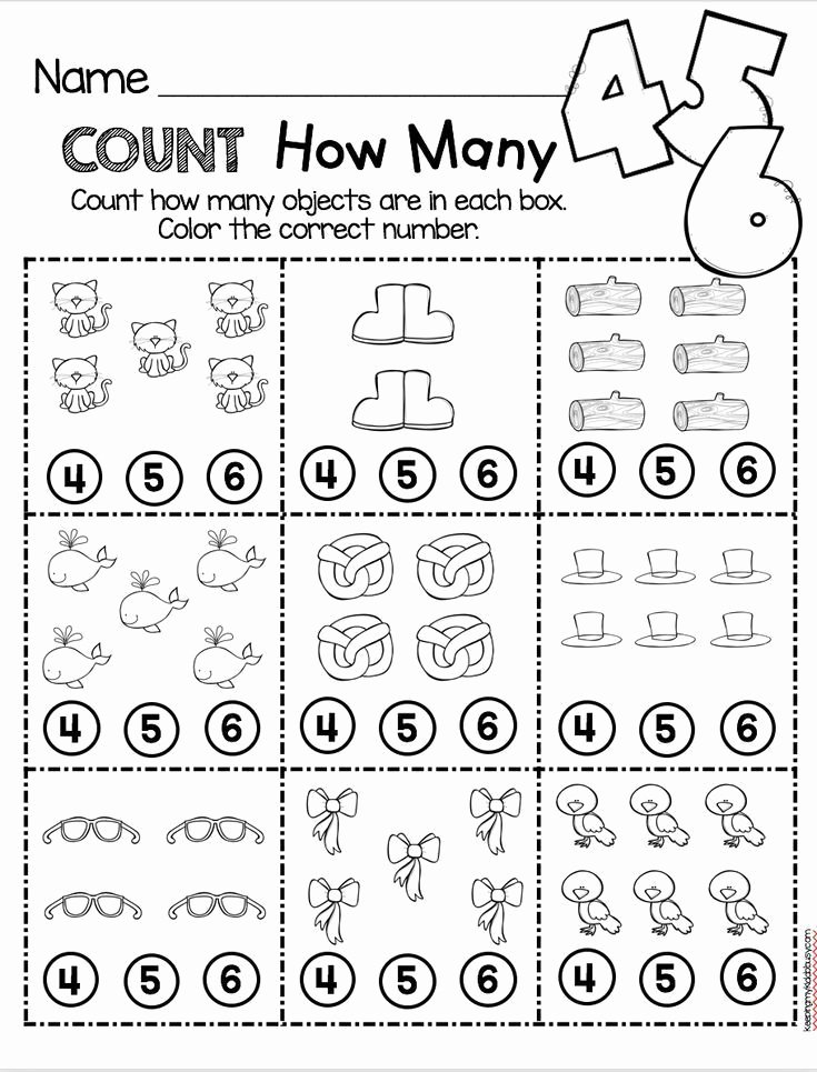 How Many Worksheets for Preschoolers top Counting and Cardinality Freebies — Keeping My Kiddo Busy