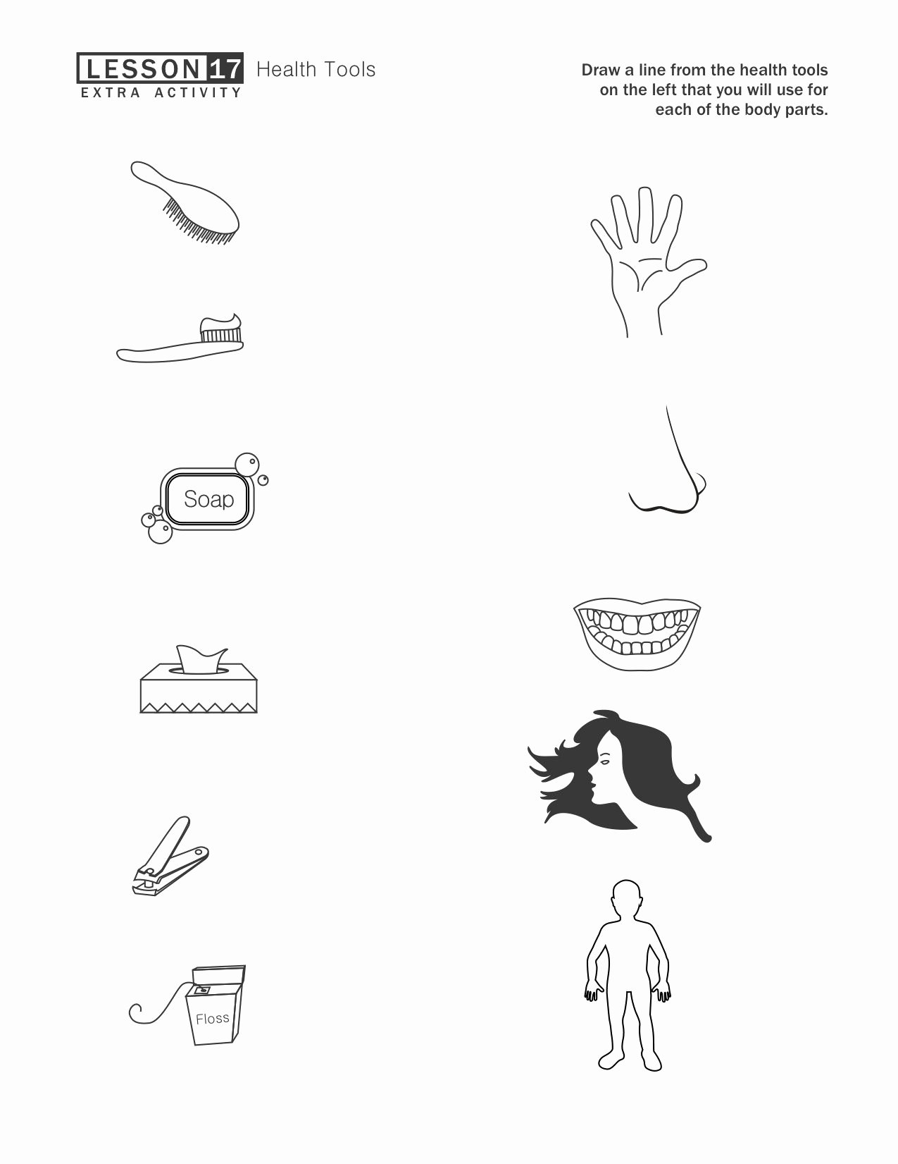 Hygiene Worksheets for Preschoolers Fresh Our Time to Learn
