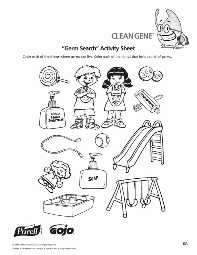 Hygiene Worksheets for Preschoolers Lovely Worksheets for Kids Level with Personal Hygiene
