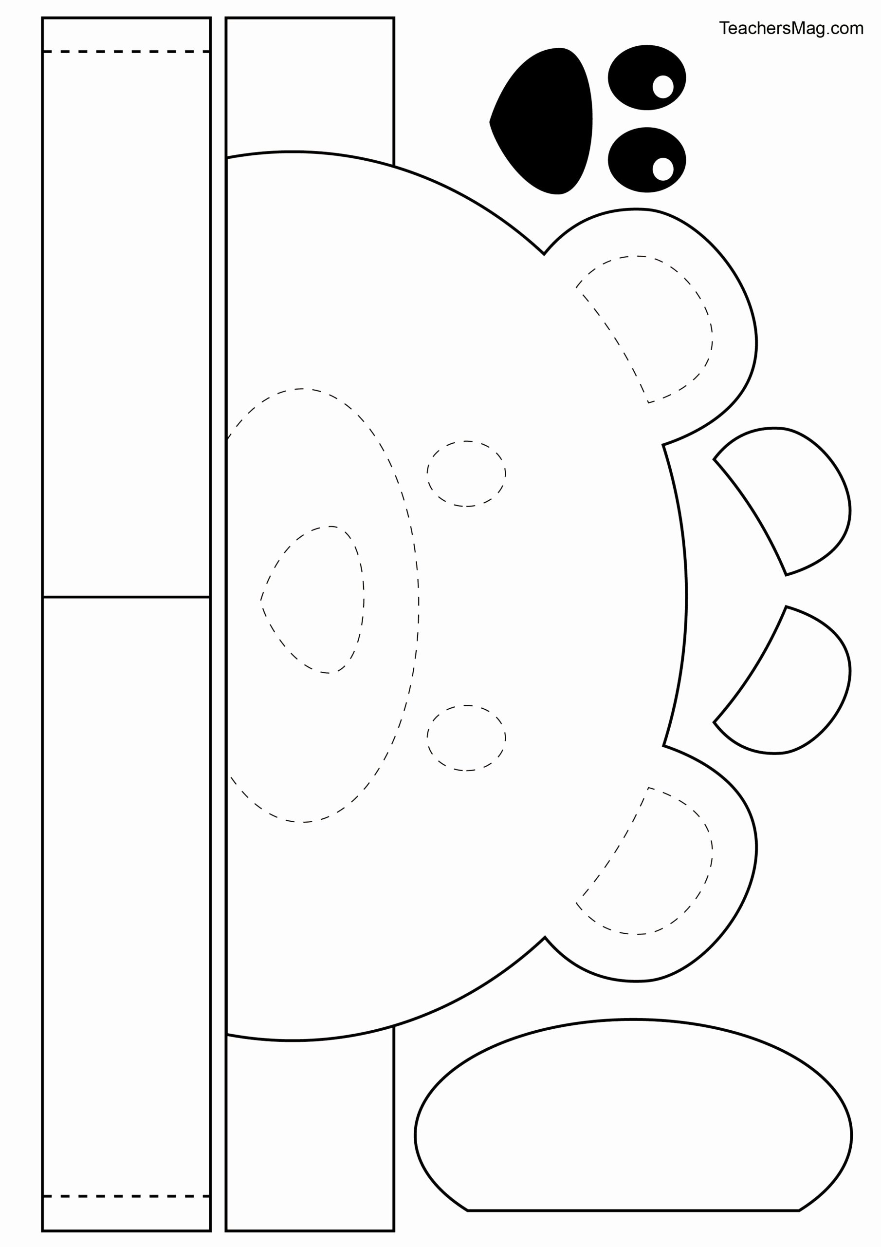 Hygiene Worksheets for Preschoolers New Free Printable Bear Crown for Kids Teachersmag Dental