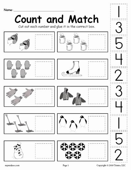 In and Out Worksheets for Preschoolers Ideas Free Cut and Paste Worksheets Worksheet Math Christmas