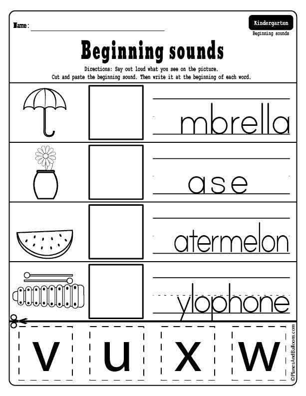 In and Out Worksheets for Preschoolers top Free Printable Cut and Paste Math Worksheets for